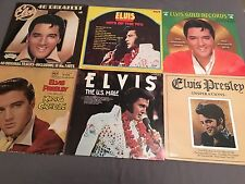 Elvis Presley X6 LP Vinal Records Bundle US MALE GREATEST HITS & MORE