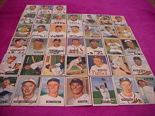 Bowman Baseball Card Lot Set 1951 (38 diff cards)NICE