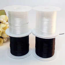 2 X Elastic Stretchy Beading Thread Cord Bracelet String For Jewelry Making Gift
