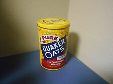 QUAKER OATS LIMITED EDITION 1984 ROLLED WHITE OATS COLLECTOR'S TIN*VINTAGE*