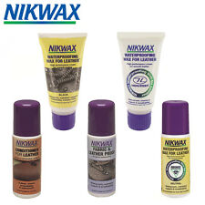 Nikwax Leather Protect Conditioner - Waterproofer, Weather Proofing Wax, Aqueous