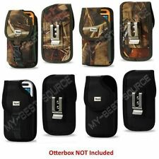 Secure Rugged Holster Belt Clip Fits Otterbox iPhone 6/6S Plus, LG G3 G4 G5 Case