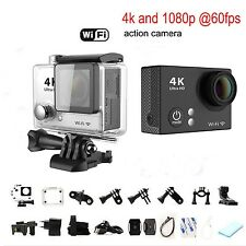 Ultra Slim HD 4K 1080P Sports DV DVR Wide Angle Waterproof WIFI Action Camera