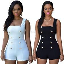Sexy Womens Sleeveless Party Jumpsuit Playsuit Bodycon Romper Trousers Clubwear