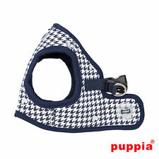 Dog Puppy Harness Soft Vest- Puppia - Aggie - Navy Blue - Choose Size