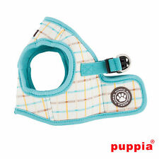Any Size - PUPPIA - TOT - Soft Dog Puppy Harness Vest - Aqua Blue