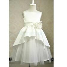 Wedding Birthday Tulle Party Princess Prom Pageant Bridesmaid Flower Girl Dress