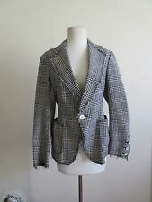 JUNYA WATANABE COMME DES GARCONS cotton polyester patterned jacket M