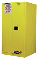 """Justrite Sure-Grip® 65""""H x 34""""W x 34""""D EX Flammable Safety Cabinet"""