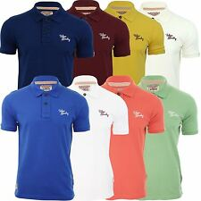 Tokyo Laundry Mens Polo T-Shirt 'Sophomore' Short Sleeved Chest Logo