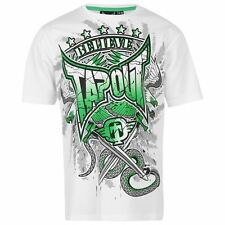 Tapout Kids Printed T Shirt Tee Top Short Sleeve Casual Crew Neck Boys Junior