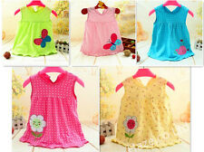 Baby Clothes Baby Girls Summer Dress Cheap Soft Cute Cotton Infant Bebe Girl
