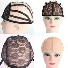 Lace Hair Wig Weaving Cap Snood Net Stretch Mesh Liner Breathable Elastic