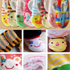 Cartoon Boy Girl Baby Skidproof  Toddler Child Room Socks Shoes Infant Booties