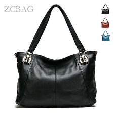 Classic 100% Genuine Leather Women Handbag Shoulder Bag Ladies Stachel Tote Bag