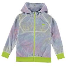 Lonsdale Kids Shell Jacket Junior Girls Hoodie Full Zip Hooded Sports Top