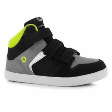 Airwalk Kids Dixon Mid Top Skate Shoes Casual Velcro Trainers Childrens Boys