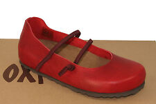 Oxygen Footbed Shoe Plymouth Red sizes 37-41 RRP £44.99