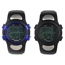 LatestFitness 3D Sport Pedometer Calories Counter Watch Pulse Heart Rate Monitor
