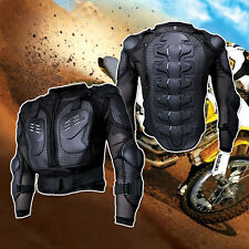 Foam Padding Motorcycle Motocross Full Body Protective Armor Jacket Gear M-4XL
