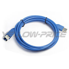 Super High Speed USB 3.0 Printer Scanner Cable AMBM Male 10ft for HP Brother