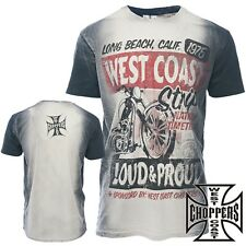 West Coast Choppers men'S T-Shirt T-Shirt Biker Custom - NEW COLLECTION S - 4XL