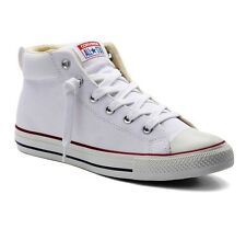 OFFICIAL CONVERSE CHUCK TAYLOR ALL-STAR WHITE MID UNISEX SHOES NIB BNWT $60.00