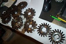 Lot 11  Cutting Tools For Bridge Port Mill Milling Machine  RATROD TULSA OK