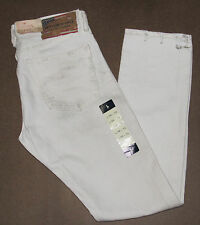 Polo Ralph Lauren Denim & Supply Mens Distressed Slim Fit Low Rise Denim Jeans