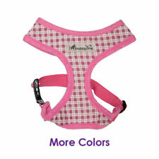 Any Size - iPuppyOne - Dog Puppy Soft Harness - WESTERN - Pink