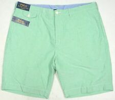 NWT $79 POLO CLASSIC FIT Ralph Lauren Oxford Shorts Mens Green 38 FAST SHIP