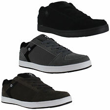 Mens/Boys Airwalk Brock Skate Lace Up Casual Suede Trainers Sizes 3 to 15