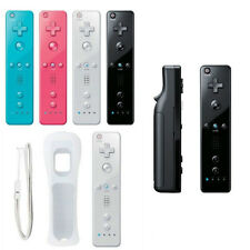 Durable Built in Motion Plus Remote +Nunchuck Controller+ Case for Nintendo Wii