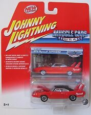JOHNNY LIGHTNING MUSCLE CARS TOM LOWE'S 1970 PLYMOUTH SUPER BIRD #48