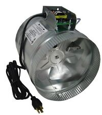 """Tjernlund Automatic Plug-in Duct Booster Fans for Flex or Metal Duct 6""""and 8"""""""