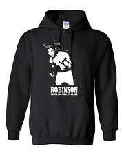 """Sugar Ray Robinson """"Sweet As Sugar"""" Hoodie, Boxing Legend, All Colours & Sizes"""