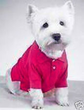 Casual Canine PREPPY POLO Dog Shirt PINK, BLUE or GREEN CLEARANCE! HURRY!