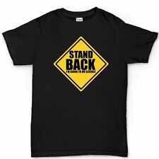 Stand Back Science Geek Nerd Project Book T shirt Funny Gift T-shirt Tee