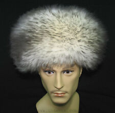 UZBEK TURKMEN CAUCASUS TRADITIONAL LONG FUR HAT-TELPAK, PAPAHA GREY COLOR #7004