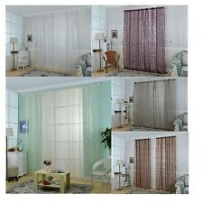 Chic Home Voile Curtain Tulle Window Drape Curtain Panel Sheer Scarf Valance
