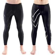 Men Compression Leggings Training Tight Pants Yoga Running Fitness Gym Trousers