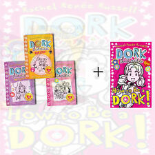 Dork Diaries (Party Time, Pop Star) 4 Children's books Collection Set, New Pack