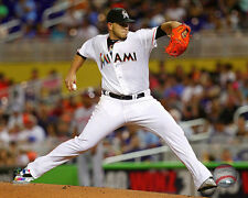Jose Fernandez Miami Marlins 2015 MLB Action Photo SE059 (Select Size)