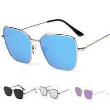 Metal Frame Men's Women Retro Aviator Mirrored Sunglasses Eye Eyewear Glasses