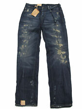$225 Polo Ralph Lauren Denim & Supply Mens Distressed Slouch Low Skinny Jeans