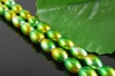 Free Ship 100pcs Oval Czech Glass Pearl Spacers Beads 8x6mm