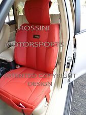 TO FIT A VOLVO C30 CAR, SEAT COVERS, YMDX 03 ROSSINI SPORTS RED