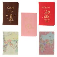 Safe Secure Travel Accessories PU Leather Passport Holder Cover Case YOU PICK