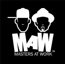 MAW Masters at  Work T SHIRT all sizes FREEPOST UK