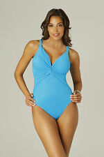 MIRACLESUIT Pandora in Turquoise 68883 CONTROL SWIMSUIT